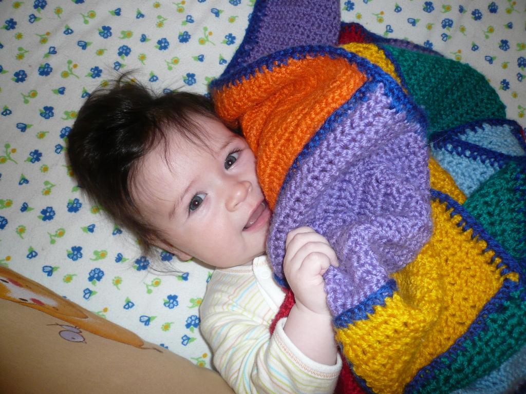 Сашеньке 5 месяцев!. Малыш на обложку