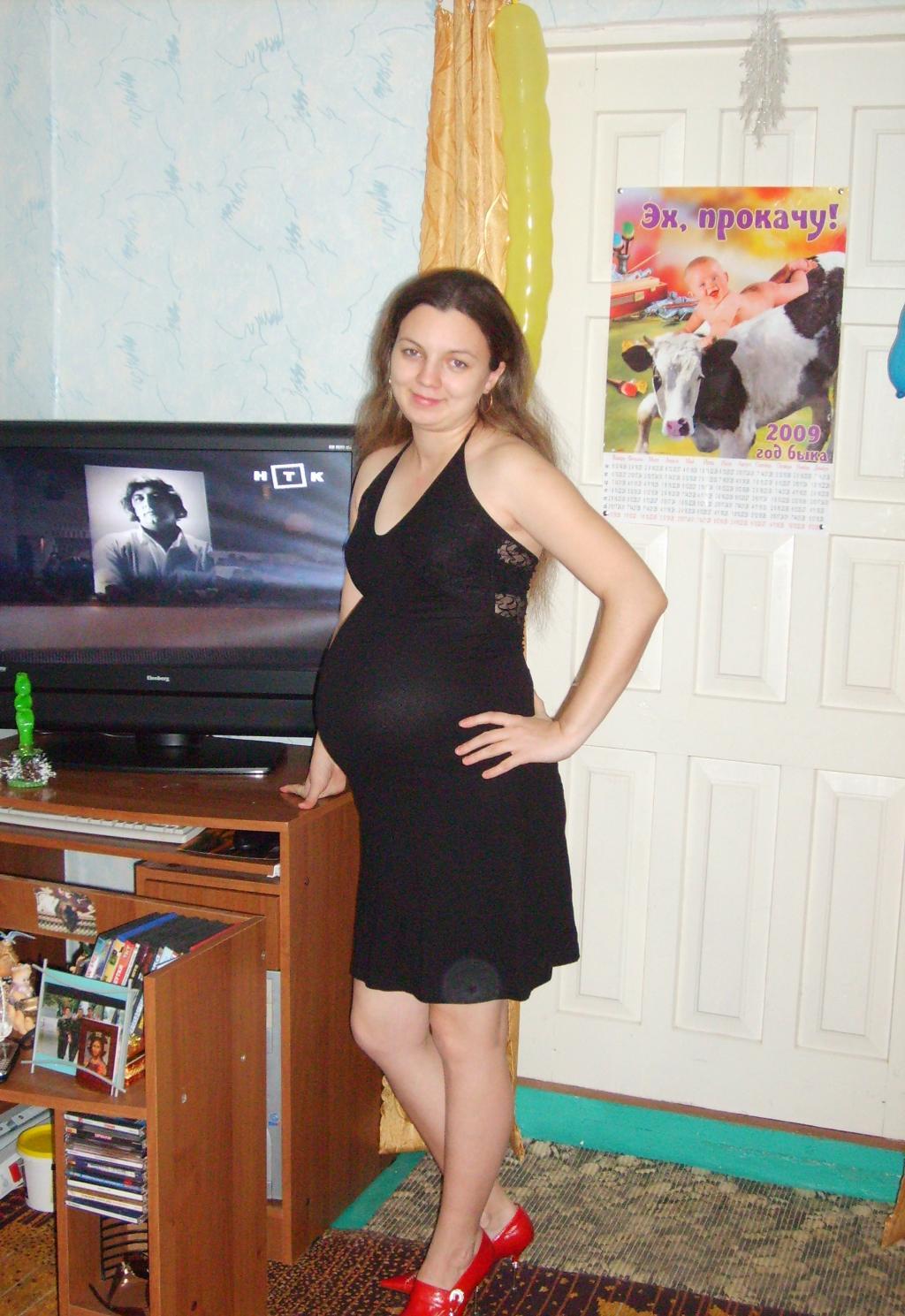 Предновогодняя подготовка. Стильная беременность
