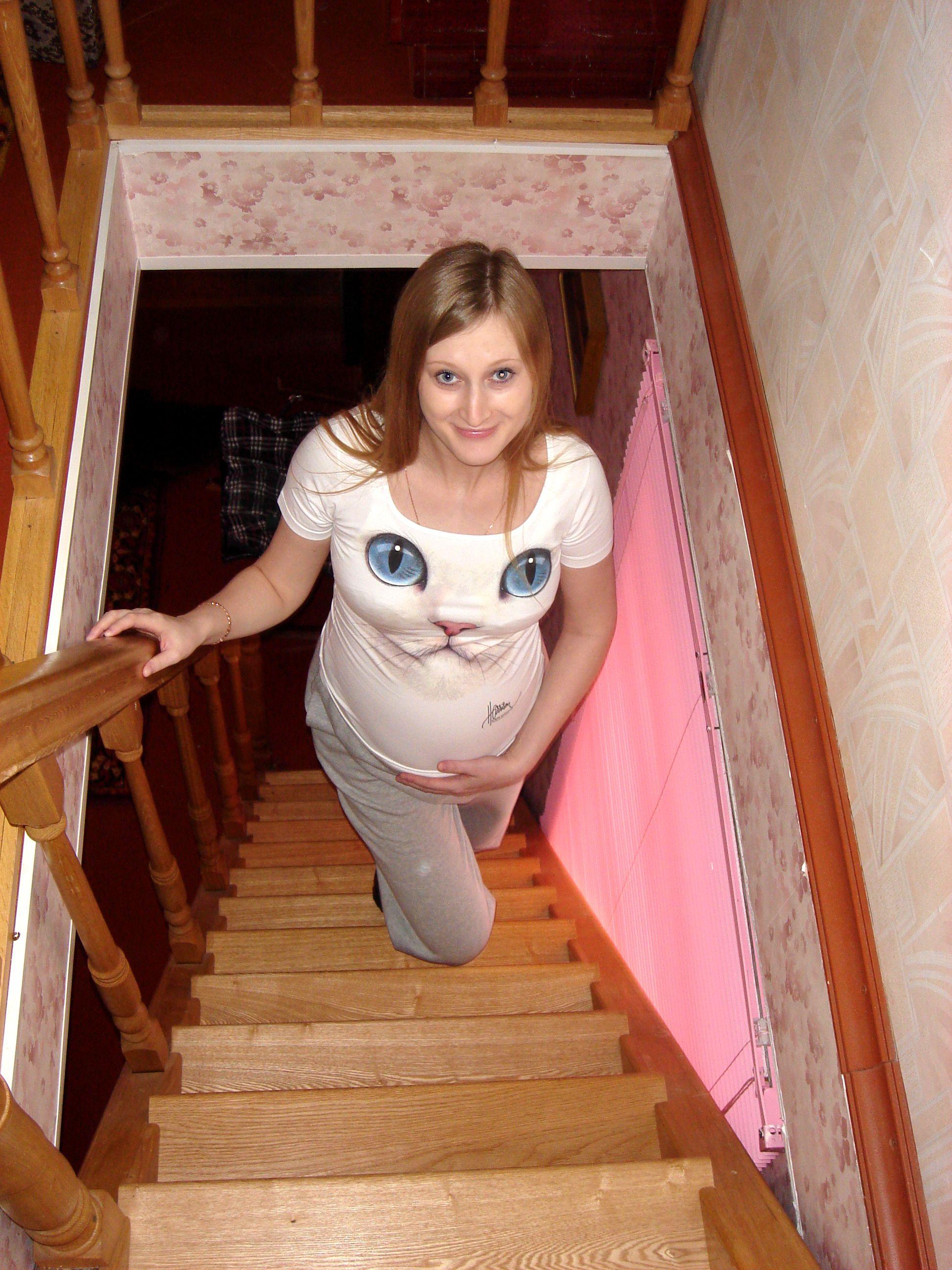 И в животике тоже голубоглазое чудо!. Стильная беременность