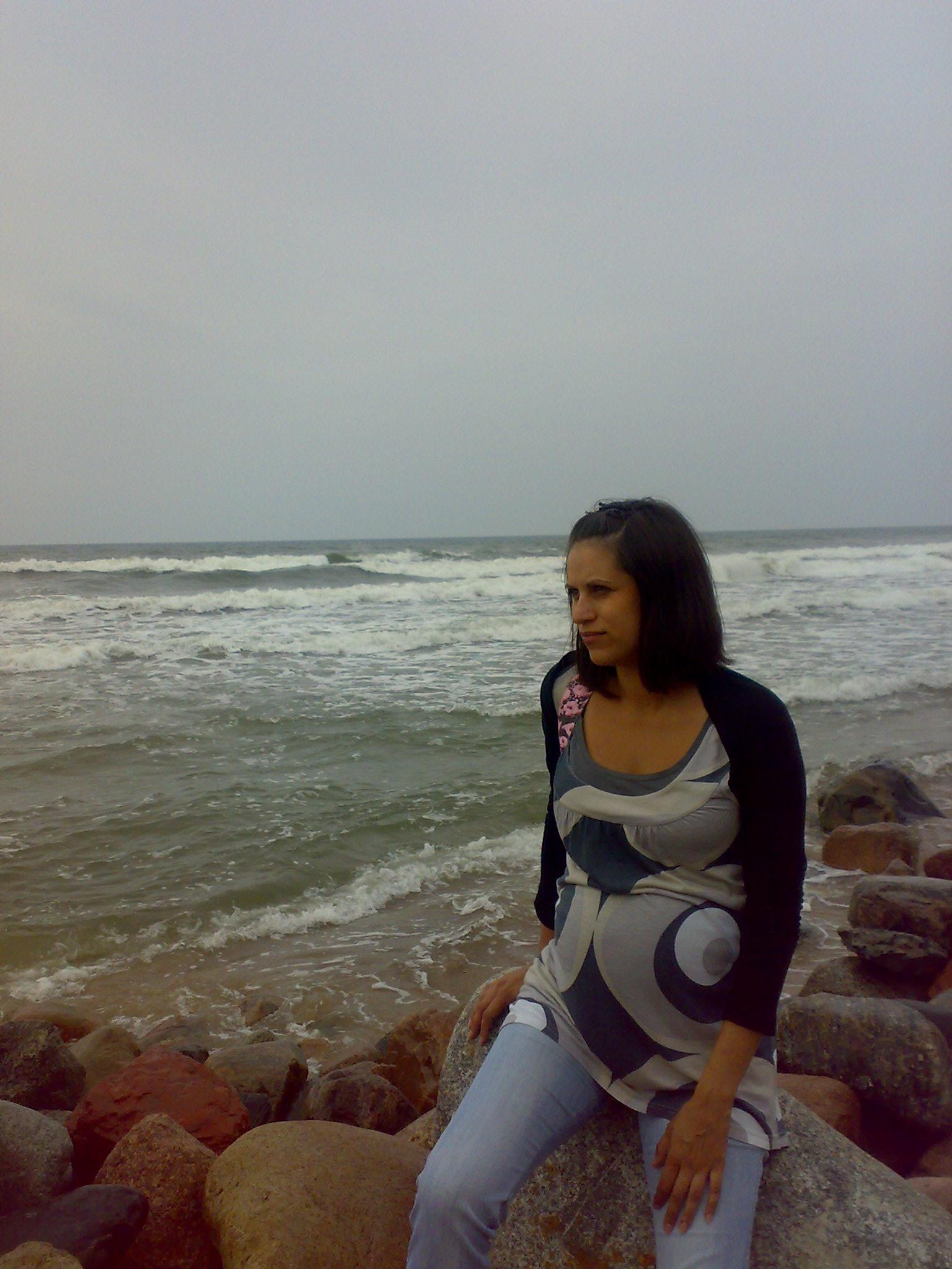 Балтийское море. Стильная беременность