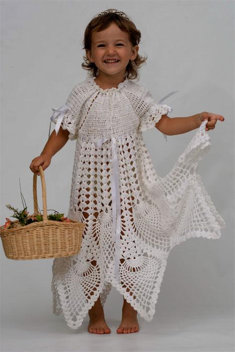Крестильное платье 'Королевское'. Одежда для детей
