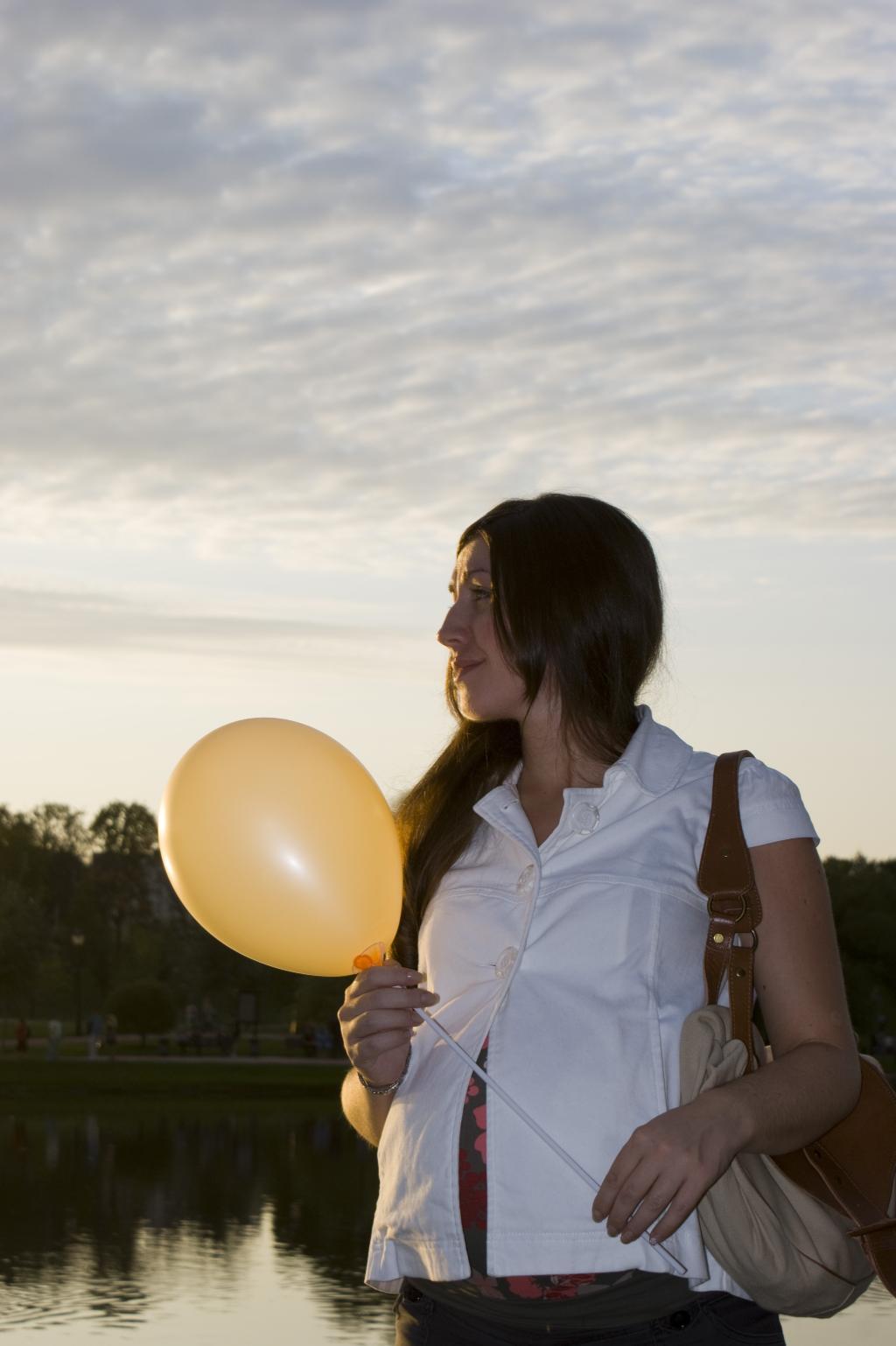 два шарика  =^_^=. Стильная беременность