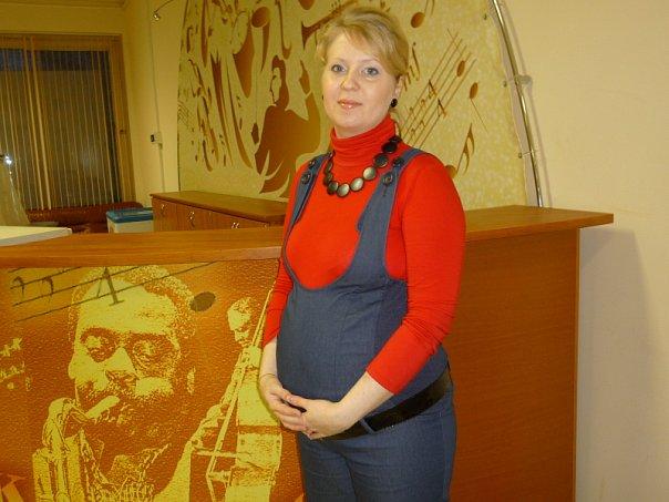 посещение культ.мероприятий))). Стильная беременность