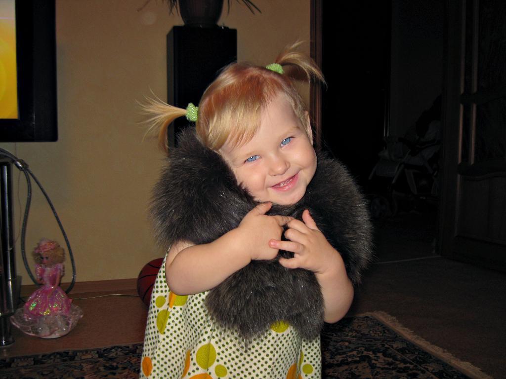 маленькая леди. Малыш на обложку