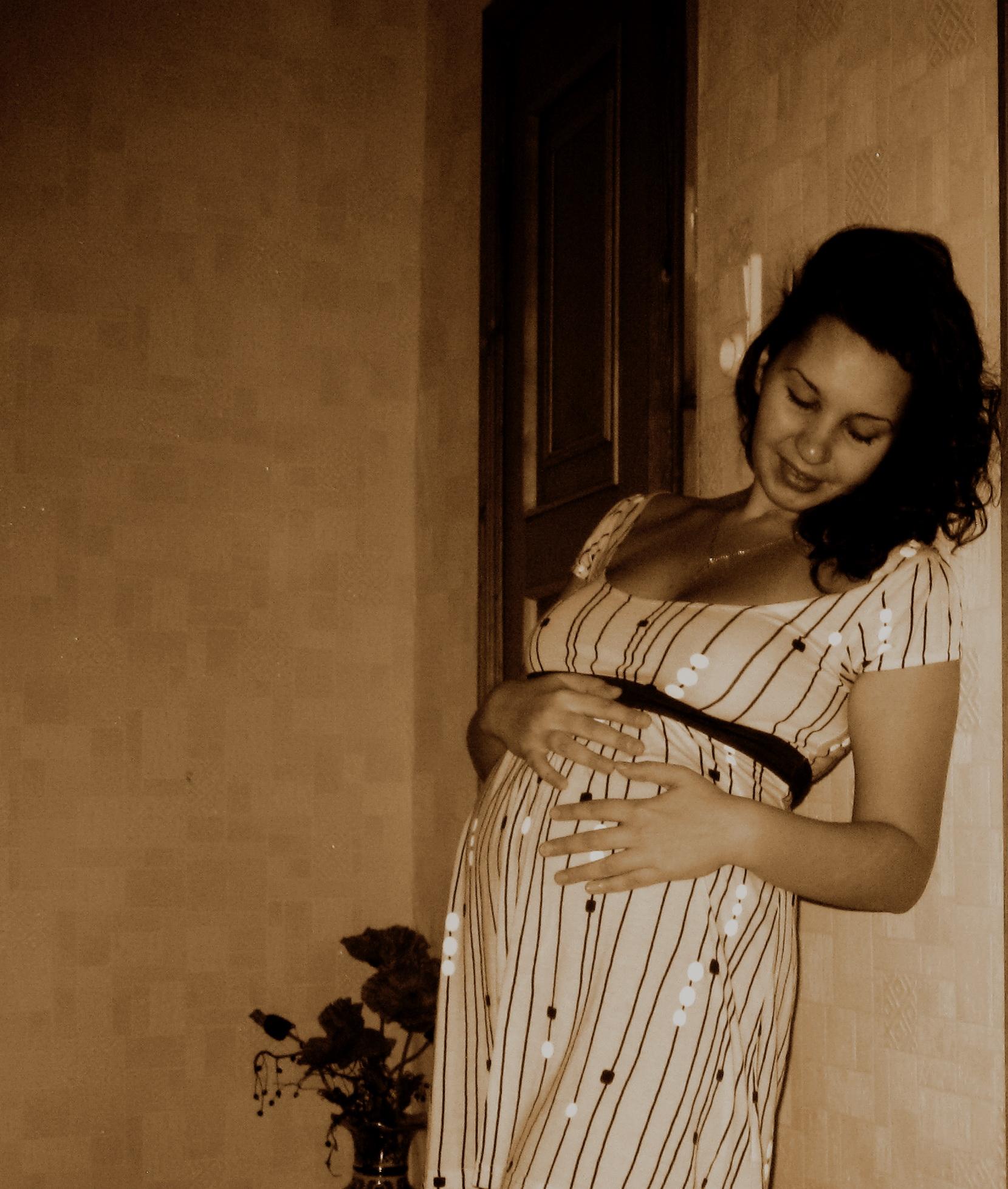 Если этот Мир не понравится, я подарю тебе свой.. Стильная беременность