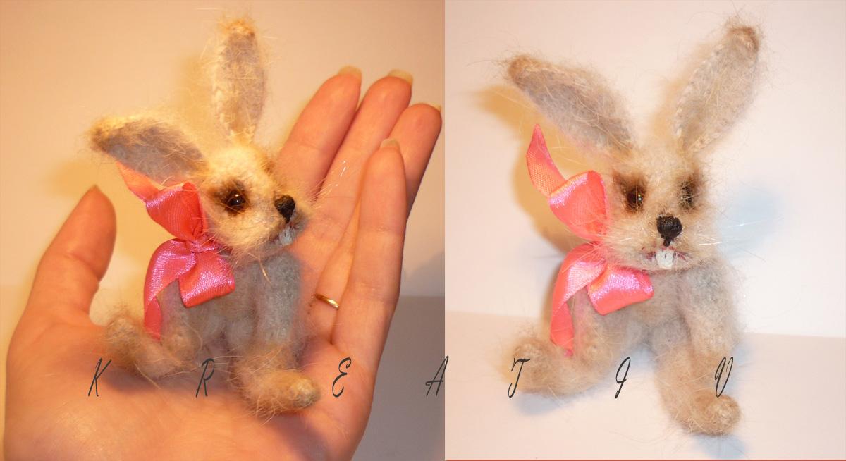 Кролик №2. Самодельные игрушки