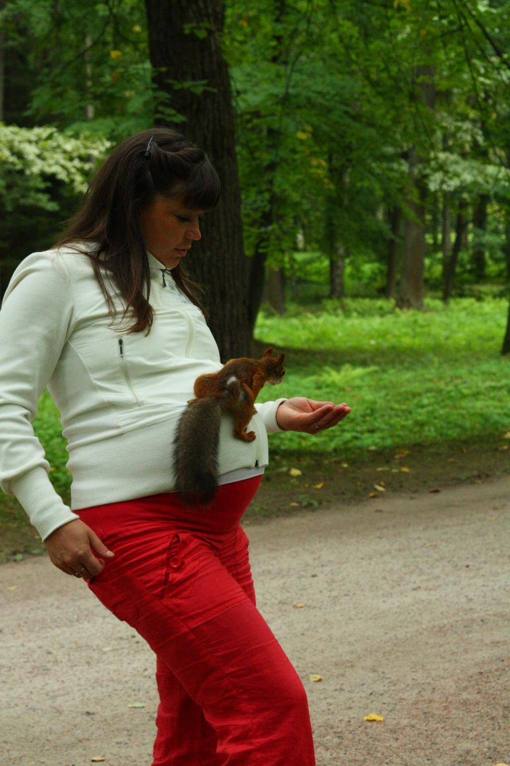 в гостях у белочки!. Закрытое голосование фотоконкурса 'Стильная беременность'