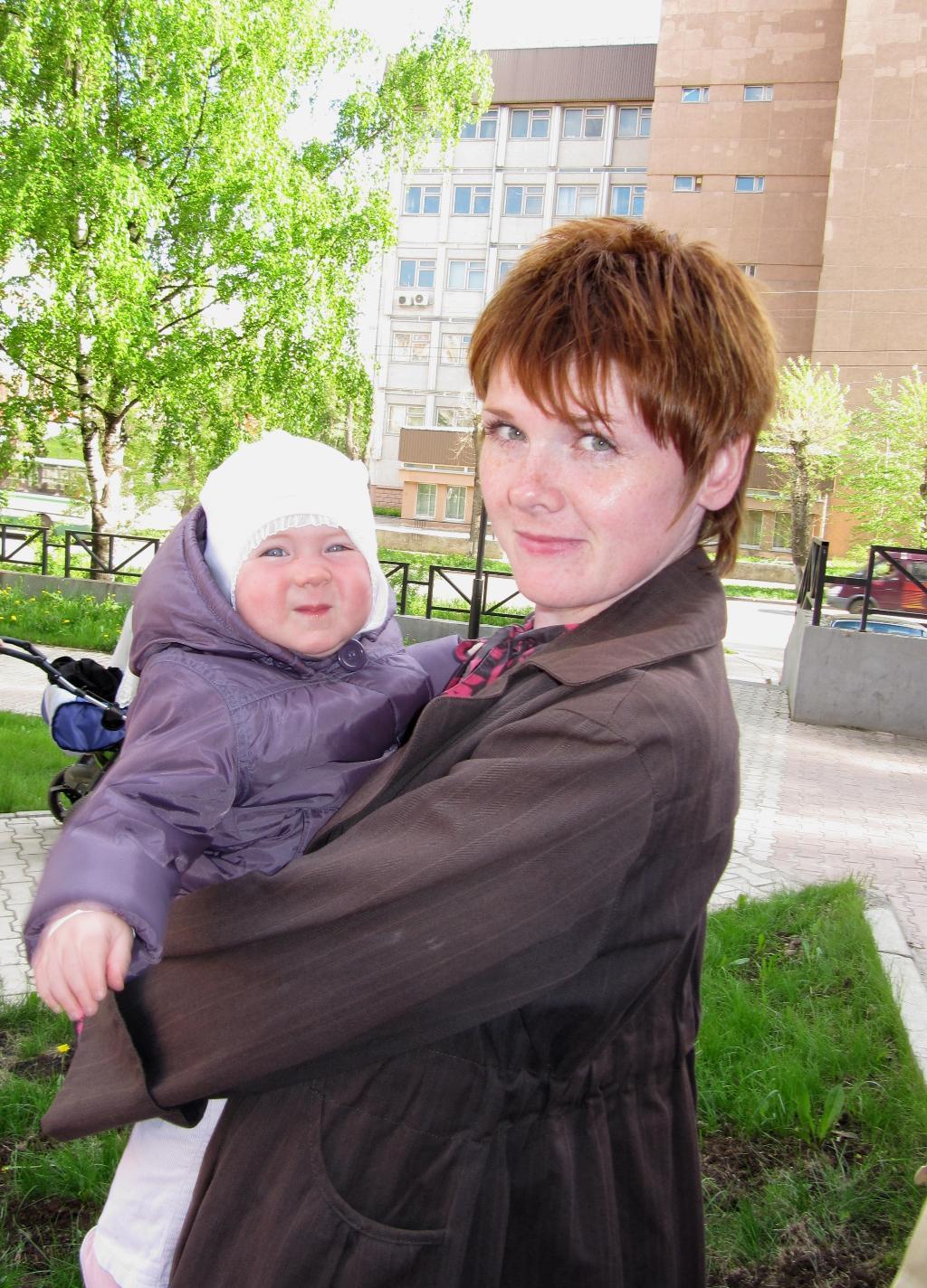 Я и мама. С мамой на прогулке
