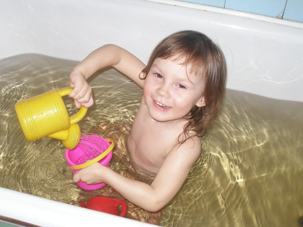 Я играю!. Играем в ванной