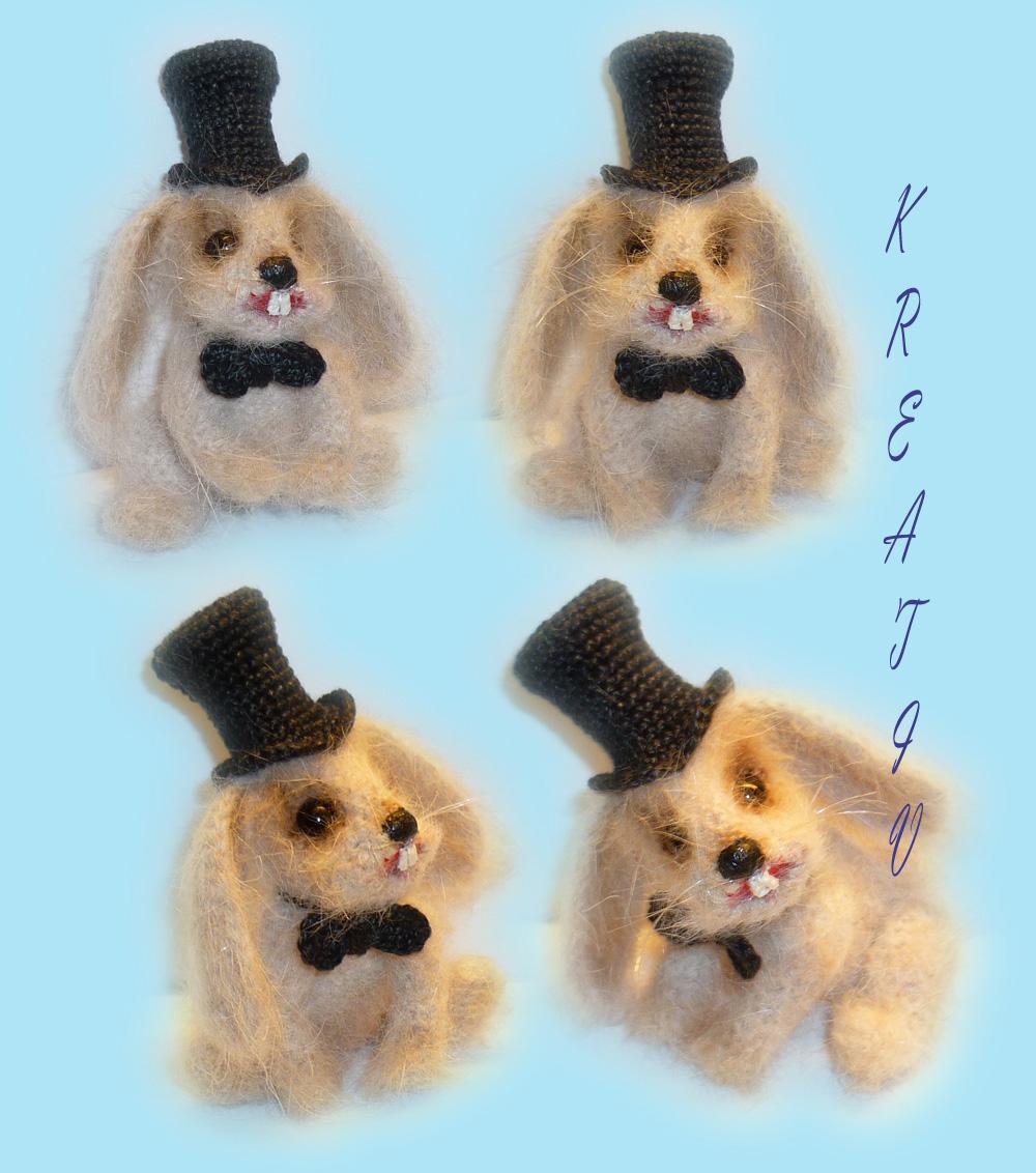 Кролик 'Фокусник'. Самодельные игрушки