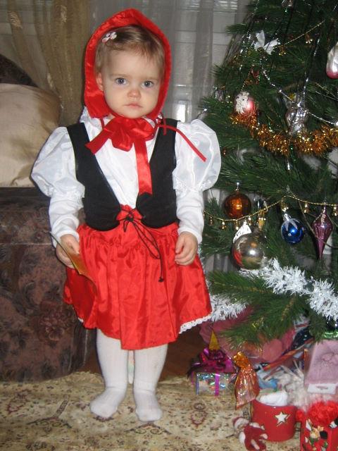 Красная шапочка. Новогодний карнавал