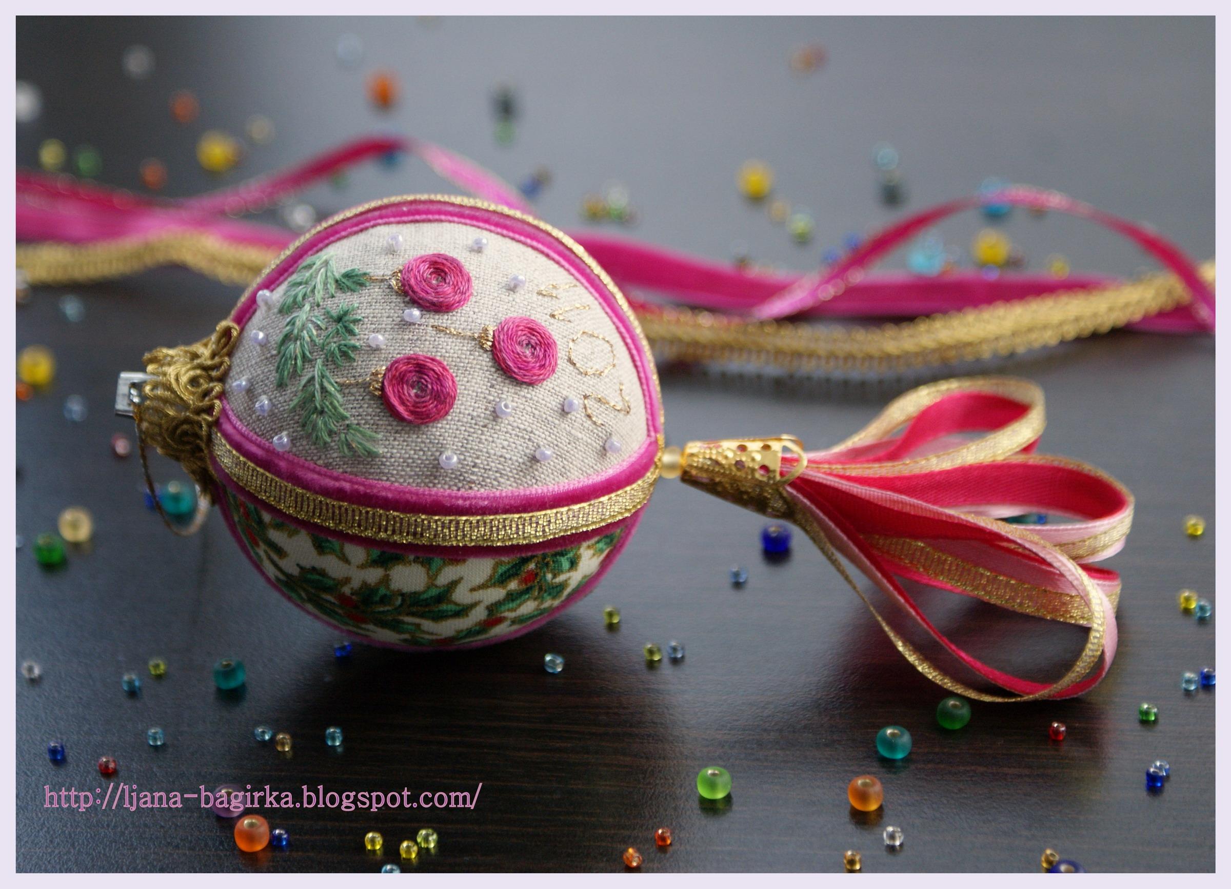 мои новогодние шарики