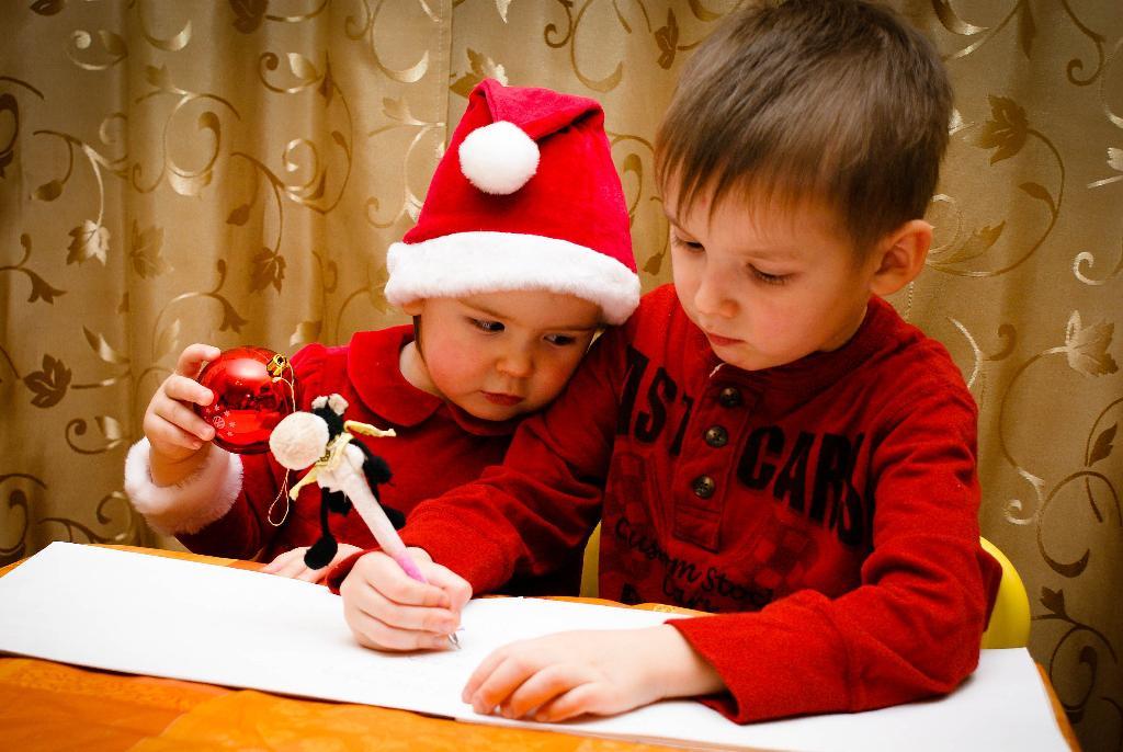 Брат, от меня привет Деду Морозу передай!. Закрытое голосование фотоконкурса    'Пишу письмо Деду Морозу'