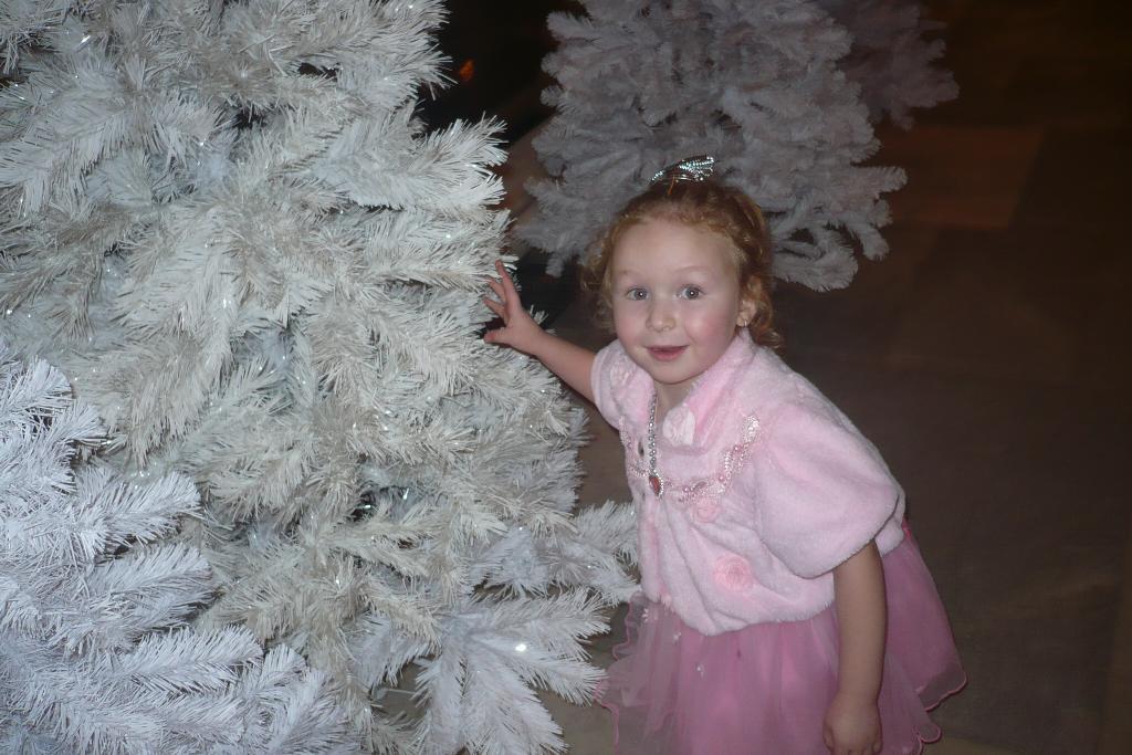золушка прячется под елкой. Новогодний карнавал