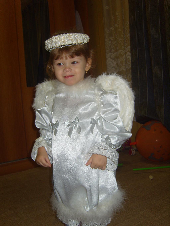 вот такой ангелочек. Новогодний карнавал