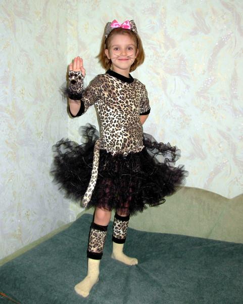 Гламурный леопардик. Новогодний карнавал