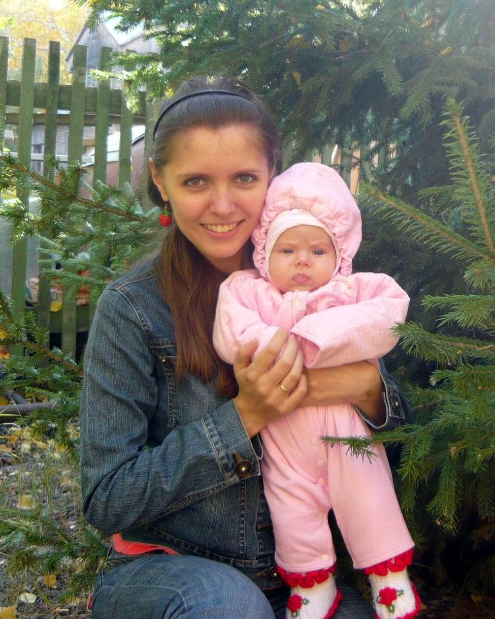 Малышка Милашка. С мамой на прогулке