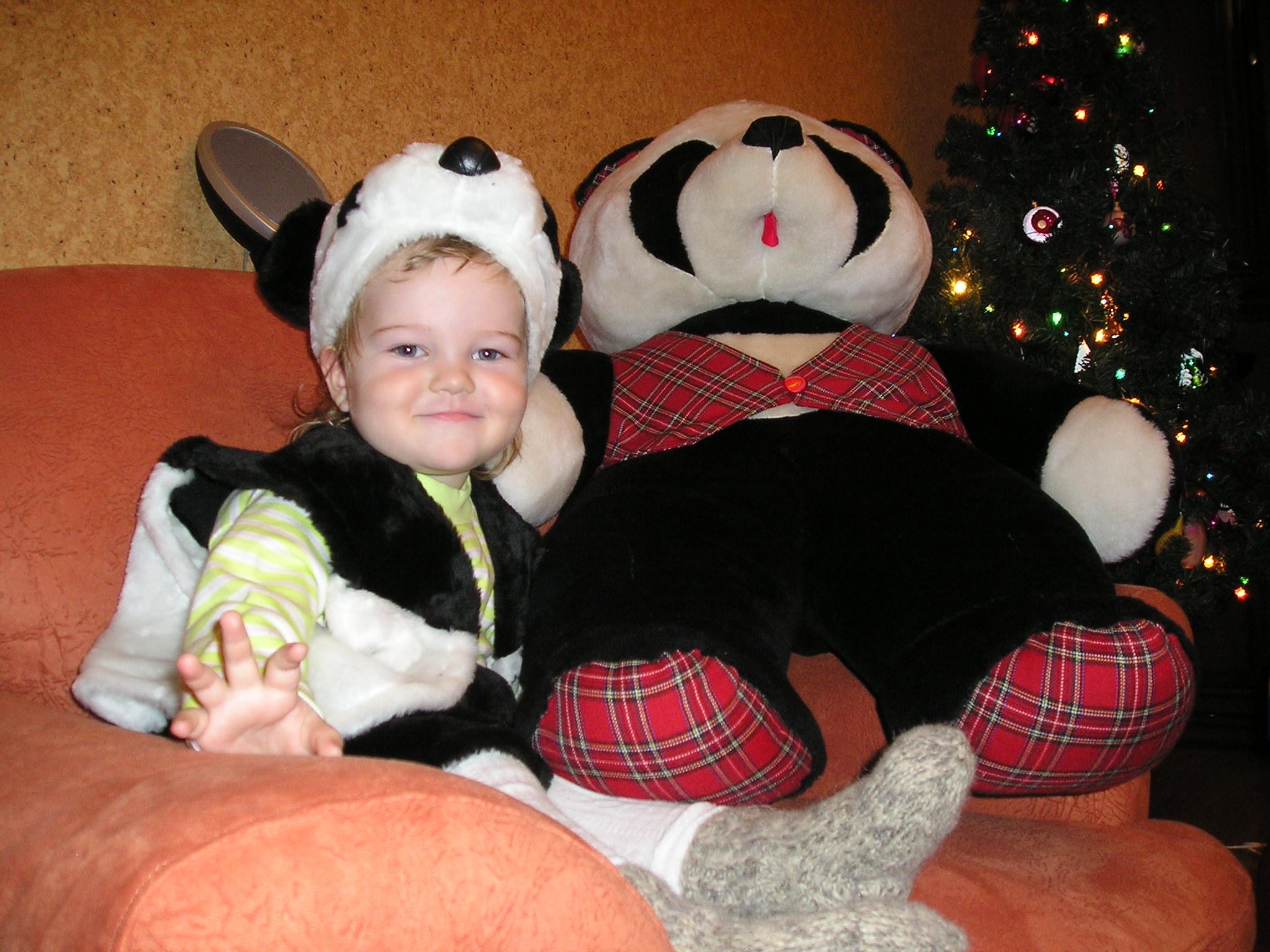 Два медведя. Новогодний карнавал