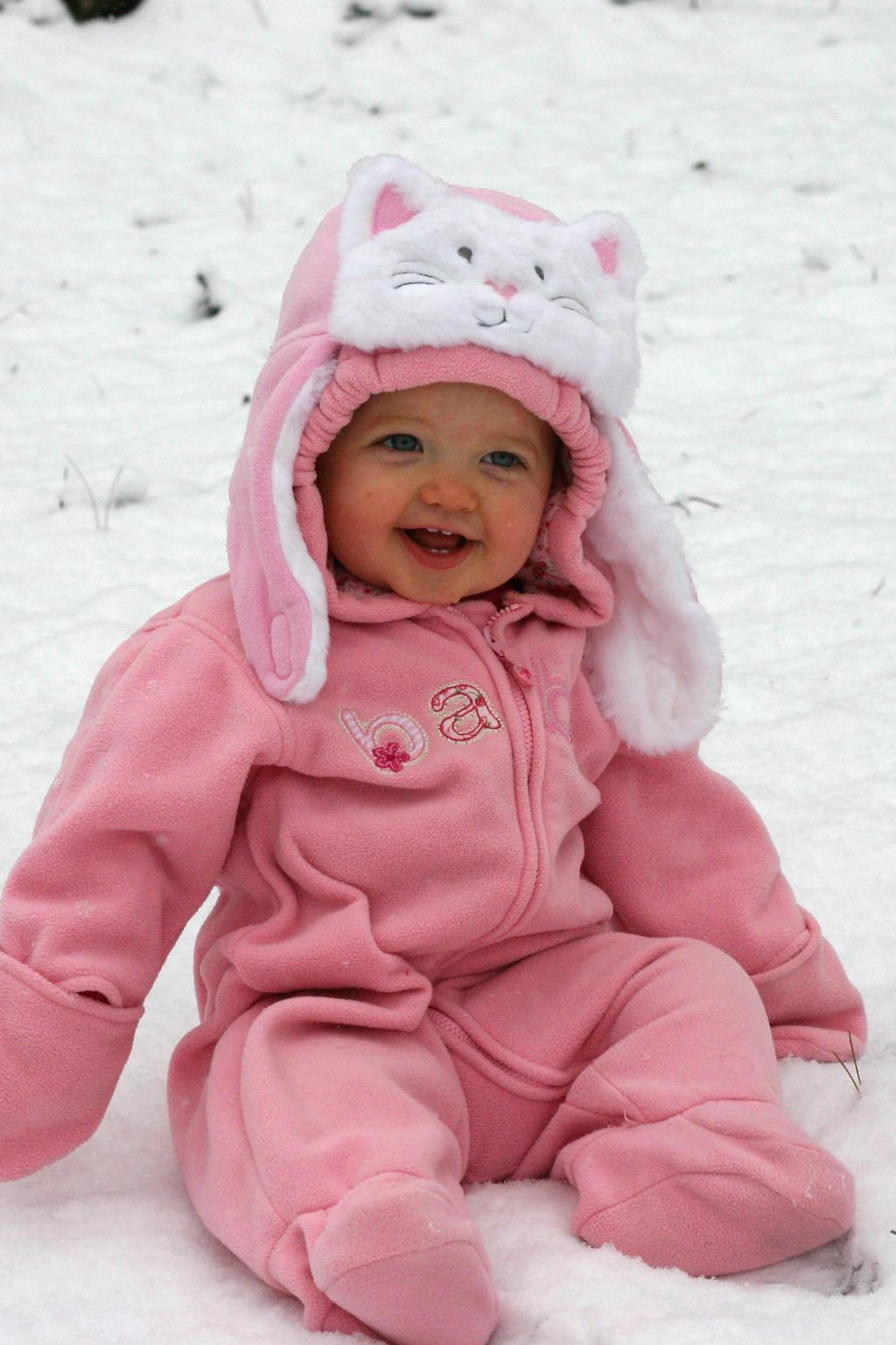 Снежная принцесса. Малыш на обложку