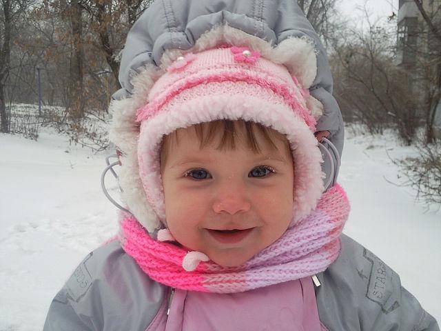 Winter. Малыш на обложку