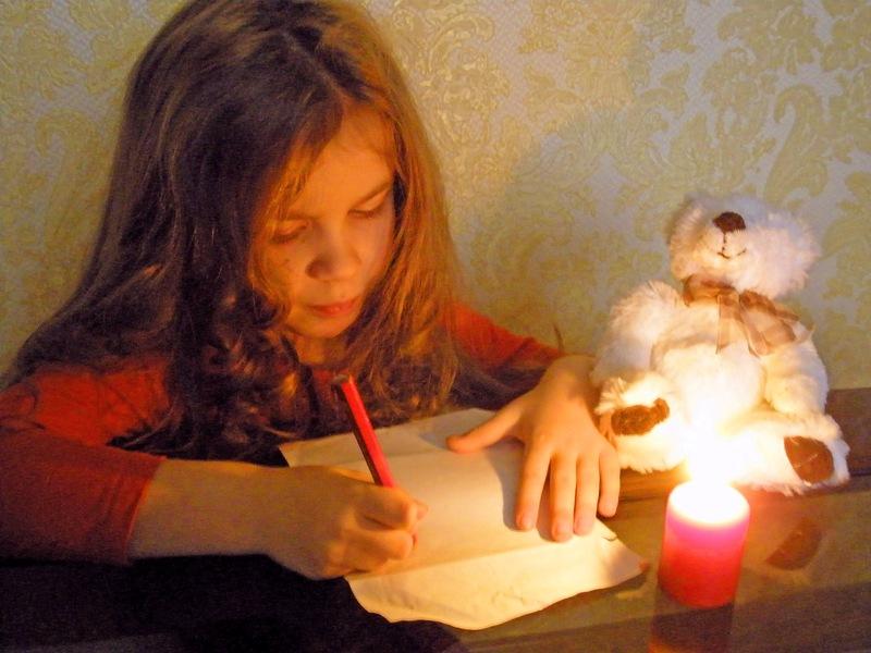 Пишу письмо Деду Морозу. Закрытое голосование фотоконкурса    'Пишу письмо Деду Морозу'