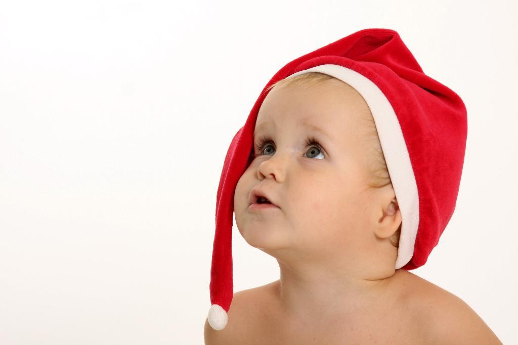 Малыш Санта. Малыш на обложку