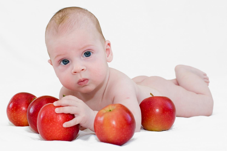 Модель в образе...... Малыш на обложку