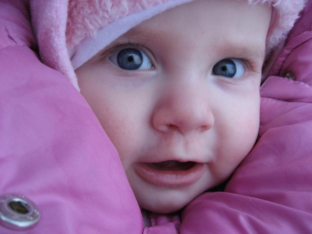 Самая красивая девочка!. Малыш на обложку