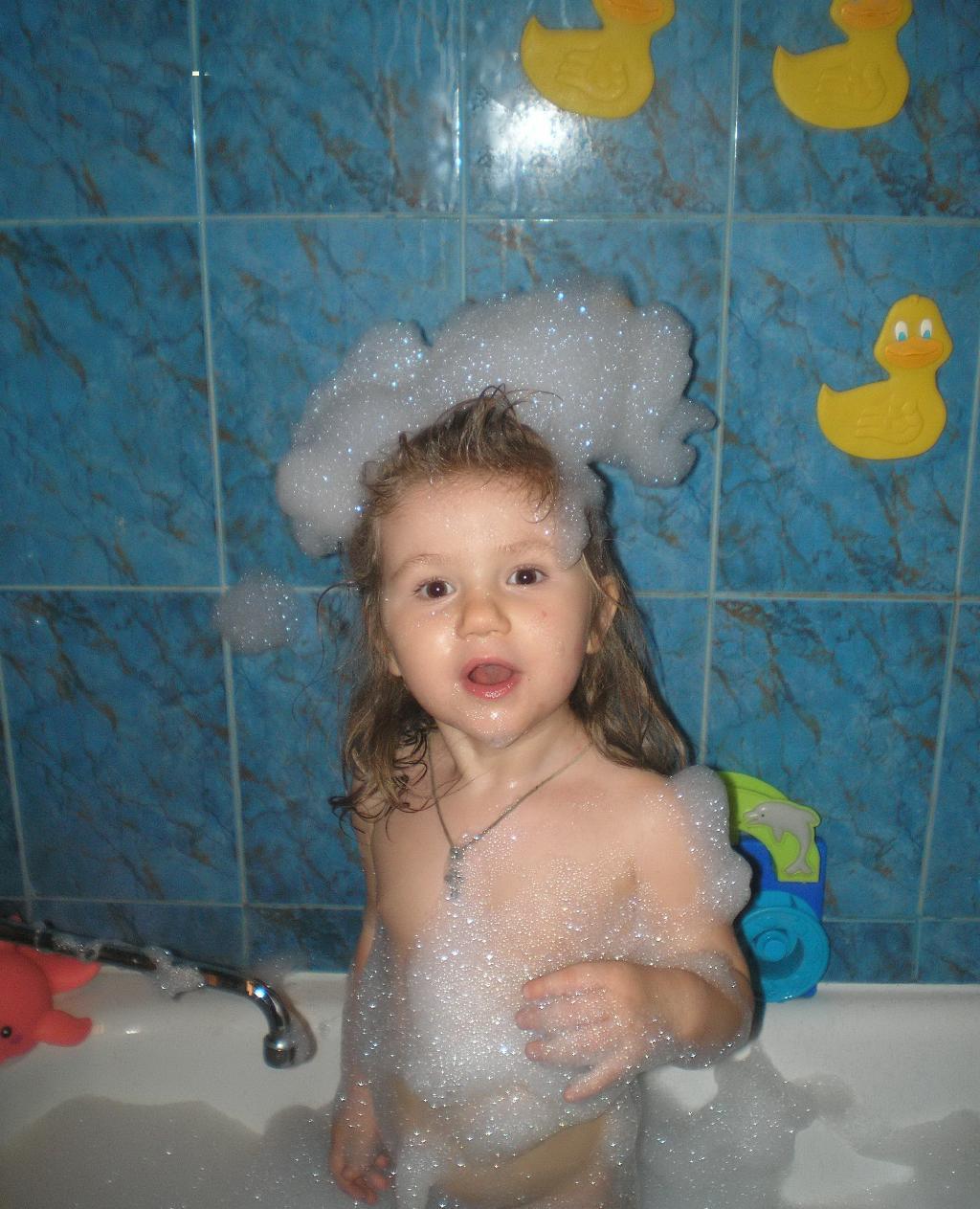 Во-о-о как!. Играем в ванной