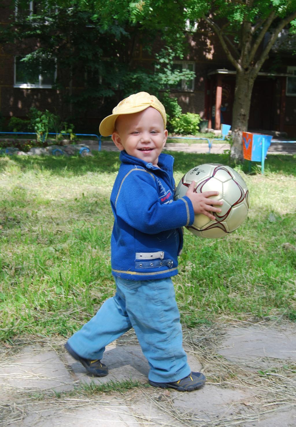Веселый футболист. Буду футболистом!