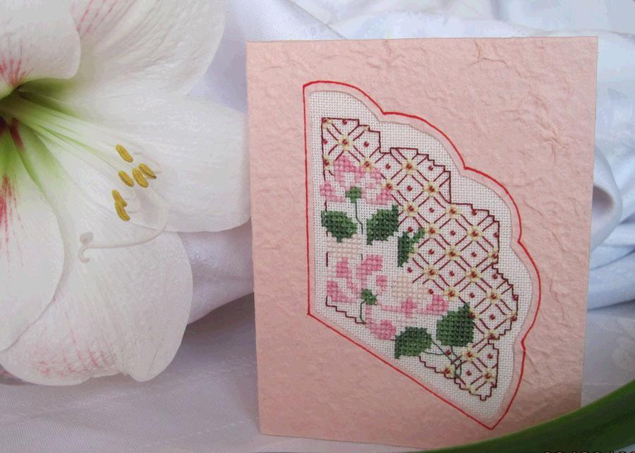 3 Мотылёк для lovebiser (получена) . 2010 Проект 'Весенняя открытка-2'