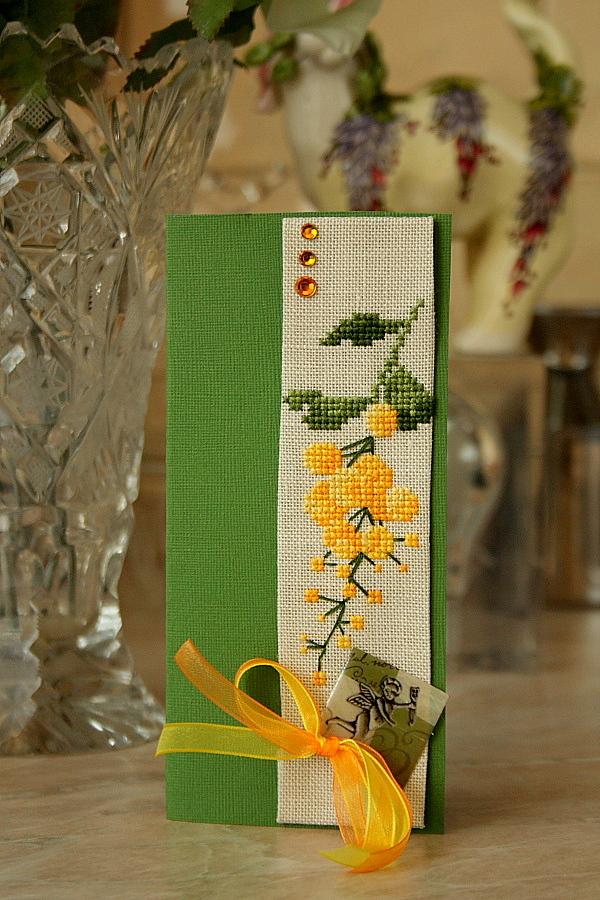 12  Левая лапа для ~Голубки~ (получена). 2010 Проект 'Весенняя открытка-2'