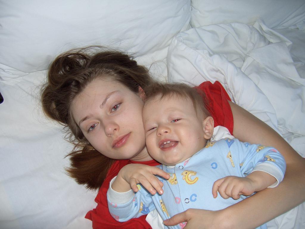 Утро начинается!. Вместе с мамой