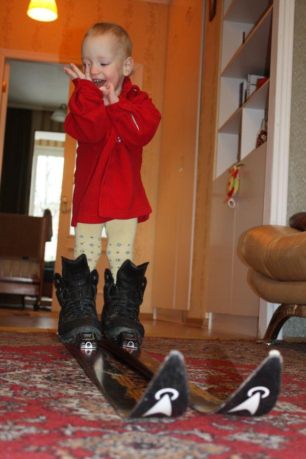 лыжница к забегу готовьсь!. Олимпийцами становятся с рождения