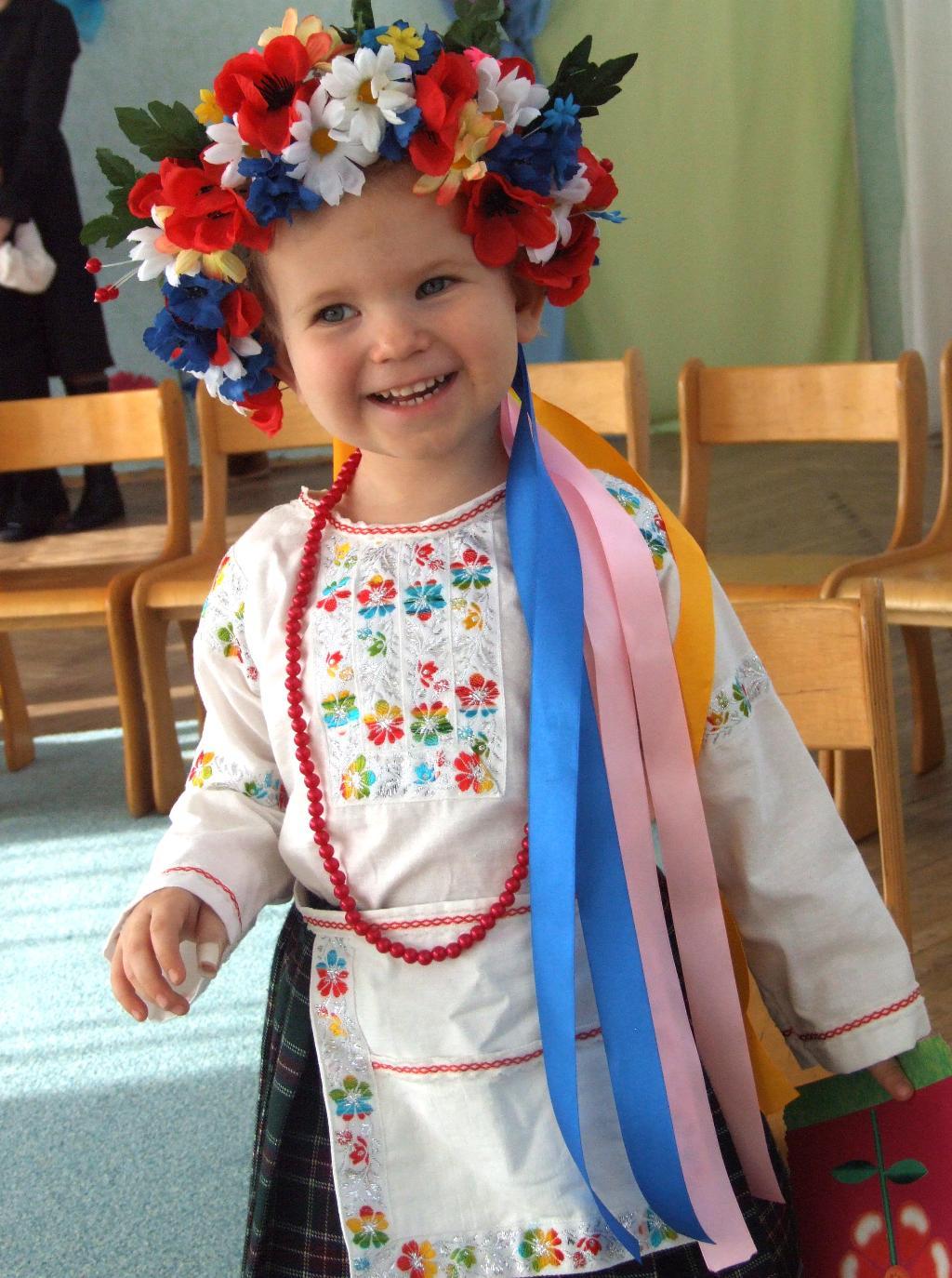 а я просто українка. Праздники в детском саду