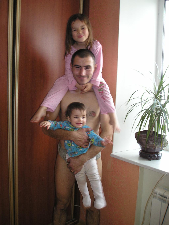 папочка любимый наш :) . Вместе с папой
