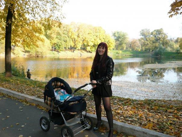 В Лефортовском парке!. Дети на прогулке