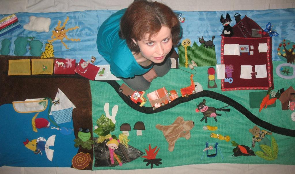Чудо-коврик для дочурки. Закрытое голосование конкурса поделок 'Другие вещи'