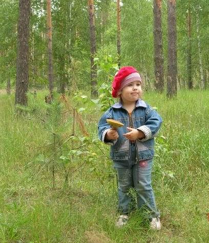 Лиза и грибочек. Юный натуралист