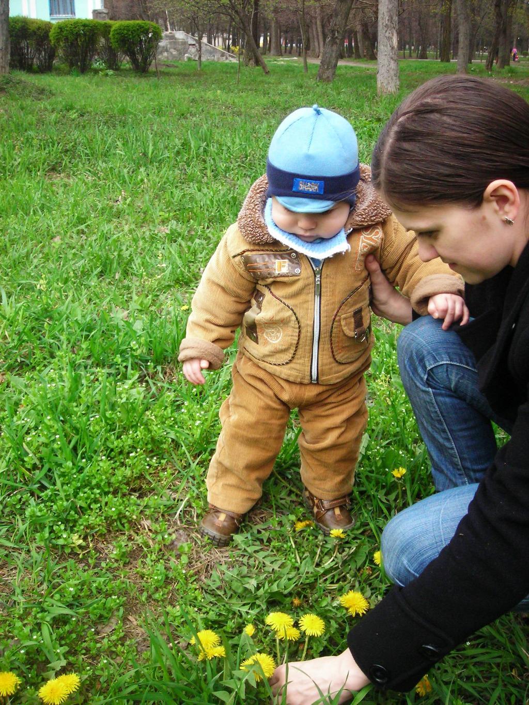 первая весна. Юный натуралист