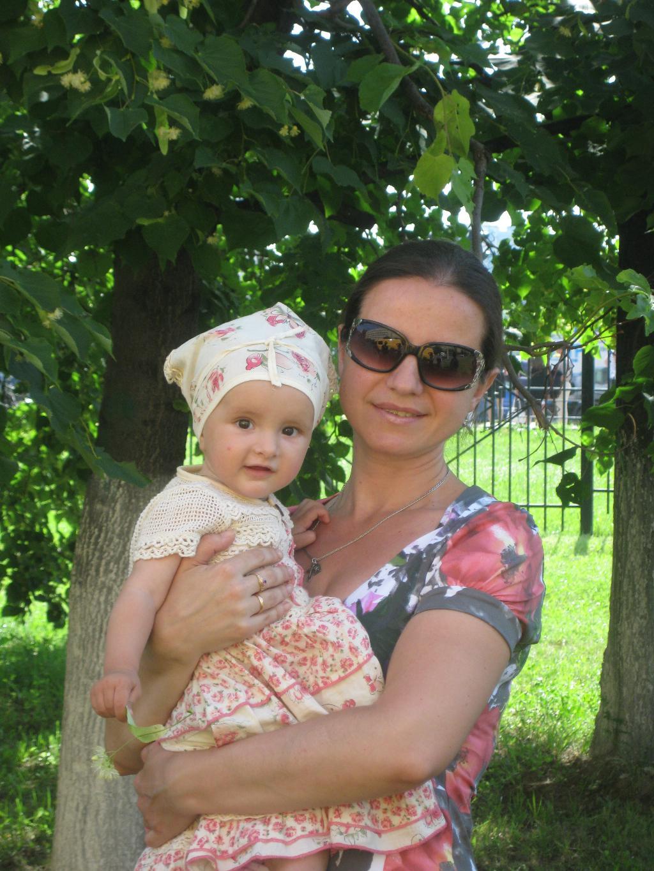 Я с Васёной на выпуске 23.06 2010. Внучата