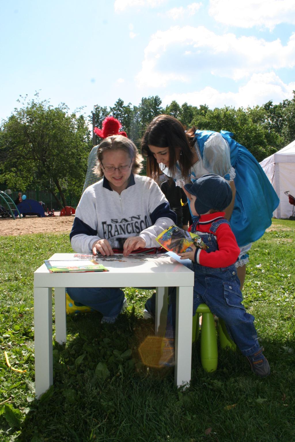 heinz-baby.ru. 29.05.2010 День рождения 7и - 10 лет (Усадьба Трубецких в Хамовниках)