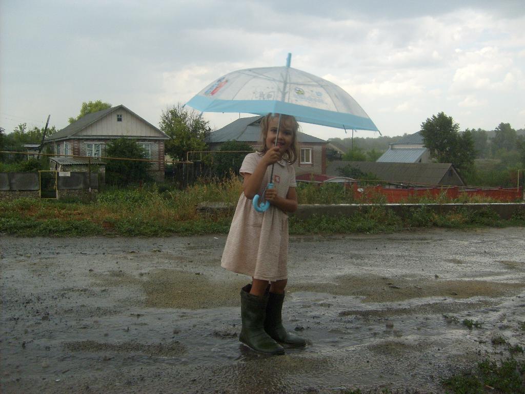 Такая скверная погода в нашем среднем Черноземье. Да здравствует дождь!