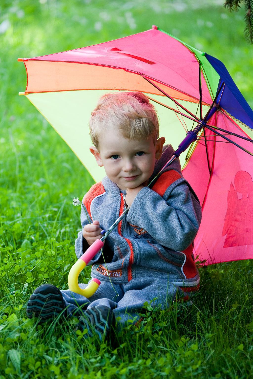 Я под зонтиком сижу!.