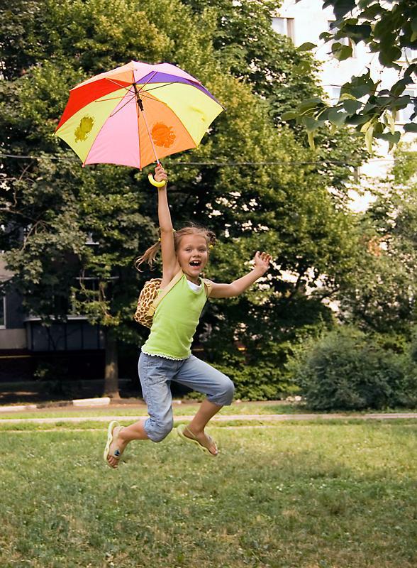 Почти Мери Поппинс! :). Да здравствует дождь!