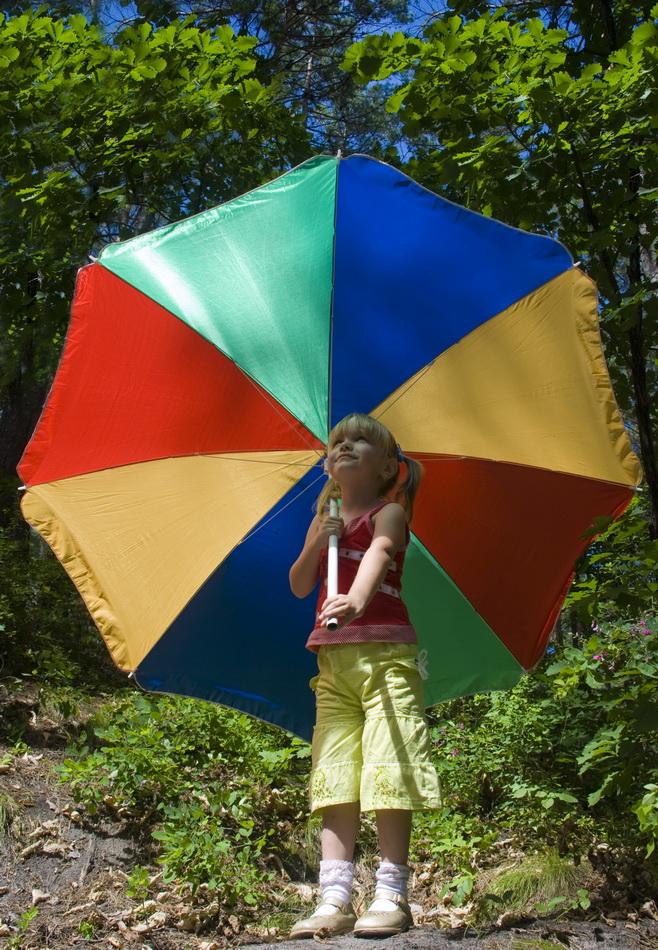 Моё разноцветное лето. Да здравствует дождь!