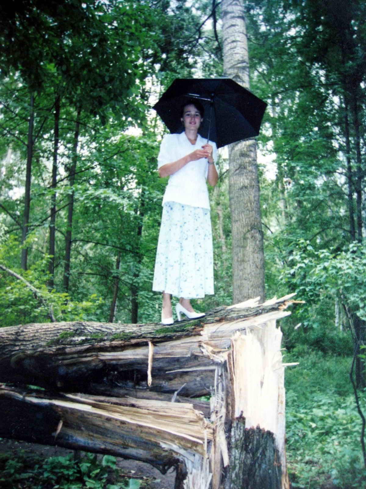 Попытка взлететь Мери Поппинс после грозы.. Да здравствует дождь!