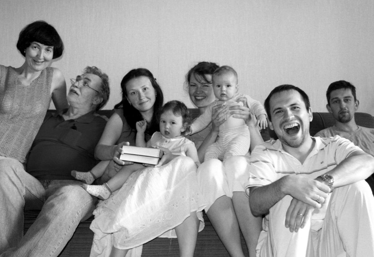 В семейном кругу. Родственники
