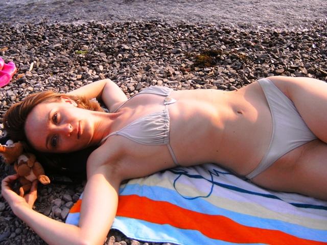 Рядом белочка лежит... :). Я на солнышке лежу