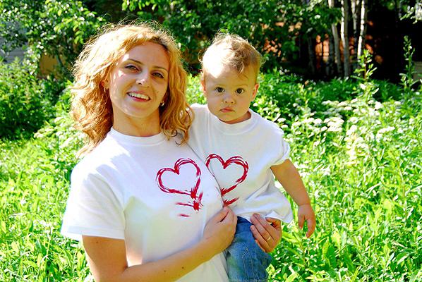 Любящие сердца.. Счастье в маминых руках